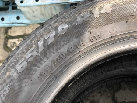 set 2 anvelope 165/70 R14 81T sh vara Formula 4.5mm cu garantie [4]