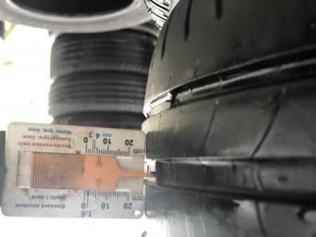 set 4 anvelope 195/65 R15 91H sh vara Michelin 5mm cu garantie [5]