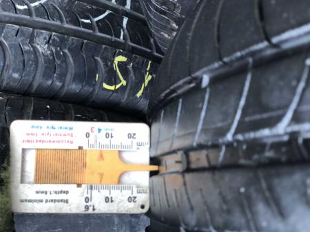 set 2 anvelope 165/65 R15 81T sh vara Michelin 5mm cu garantie [5]
