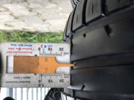 set 2 anvelope 165/65 R15 81T sh vara Fulda 5mm cu garantie [5]