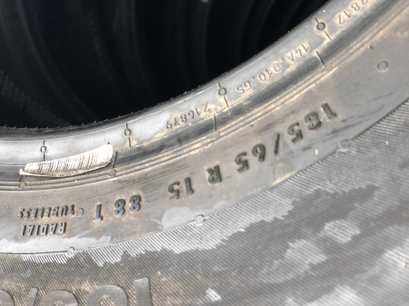 set 4 anvelope 185/65 R15 88T sh vara Continental 6mm cu garantie [5]
