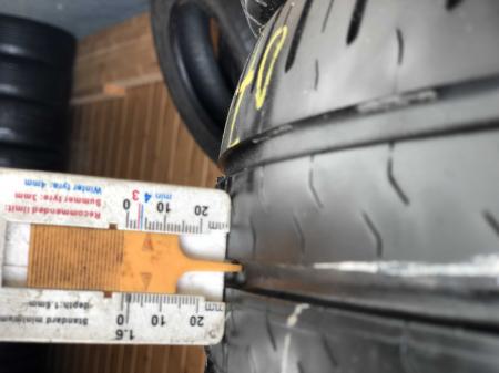 set 4 anvelope 185/65 R15 88T sh vara Continental 6mm cu garantie [6]