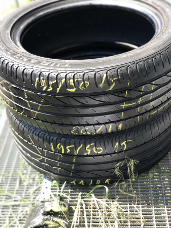 set 2 anvelope 195/50 R15 82V sh vara Bridgestone 6mm cu garantie [7]