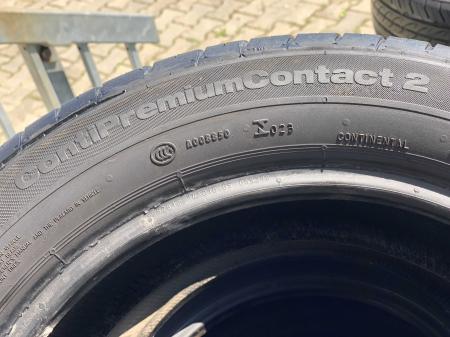 set 4 anvelope 195/55 R15 85H sh vara Continental 5mm cu garantie [5]