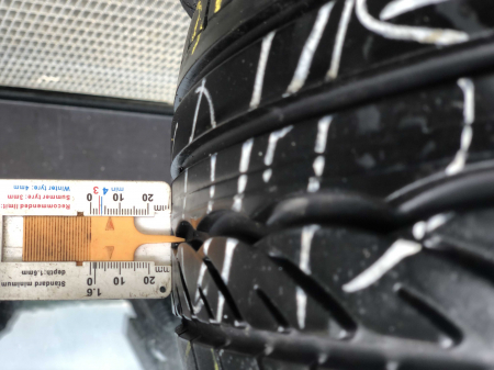 set 4 anvelope 185/60 R15 84H sh vara Dunlop 6mm cu garantie [5]