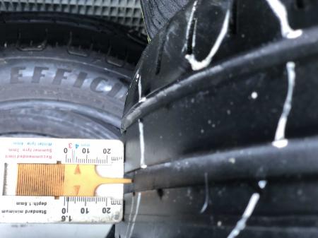 set 2 anvelope 185/60 R15 84H sh vara Fulda 5mm cu garantie [7]