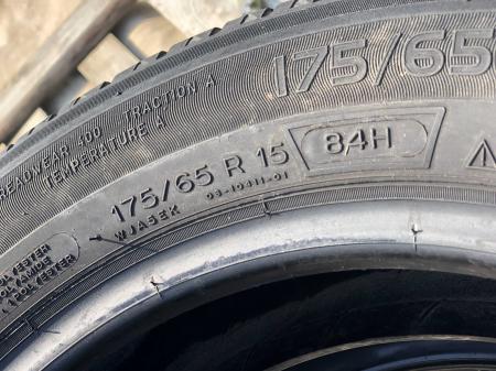 set 2 anvelope 175/65 R15 84H sh vara Michelin 6mm cu garantie [3]