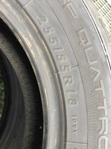 set 2 anvelope 255/55 R18 sh vara Dunlop 5mm cu garantie4