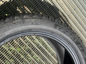set 2 anvelope 245/45 R18 RunFlat sh iarna Dunlop 6.5mm cu garantie [3]