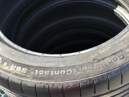 set 4 anvelope 225/50 R18 Runflat sh vara Continental 4.5mm cu garanti [10]