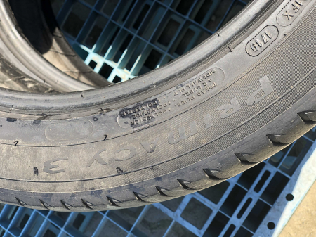 set 2 anvelope 245/45 R18 sh vara Michelin 5mm cu garantie [4]