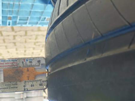 set 2 anvelope 245/45 R18 sh vara Michelin 5mm cu garantie [5]