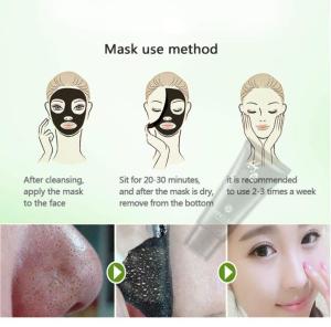Masca de fata curatarea pentru petelor negre2