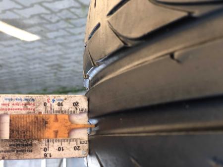 set 4 anvelope 235/50 R18 sh vara Bridgestone 6mm cu garantie [6]