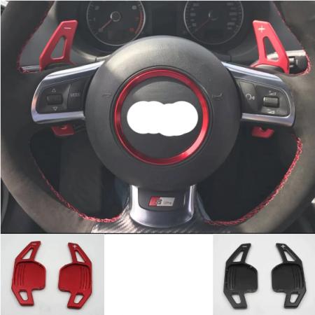 Set 2 padele volan pentru Audi, Shift Paddle, Audi A3 S3 A4 S4 B8 A5 S5 A6 S6 A8 Q5 Q7 TT [4]