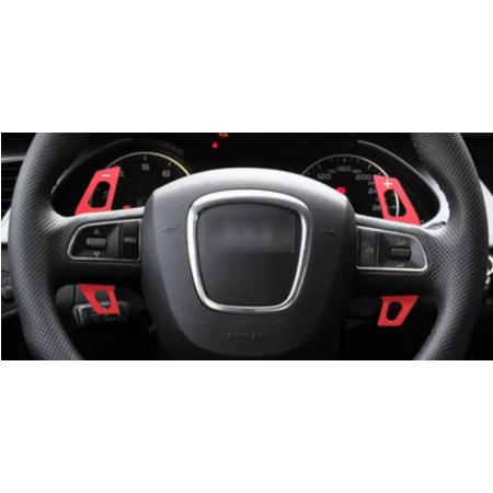 Set 2 padele volan pentru Audi, Shift Paddle, Audi A3 S3 A4 S4 B8 A5 S5 A6 S6 A8 Q5 Q7 TT [2]