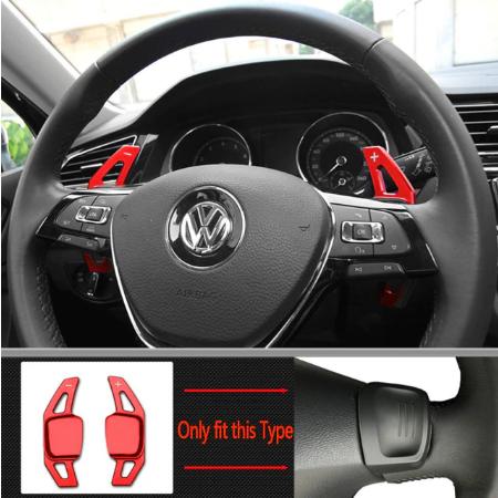 Set 2 padele volan pentru VW, Shift Paddle, VW Tiguan MK2 VW Golf7/8 MK7/8 Variant Alltrack MK7 T-Cross Passat B8 [6]