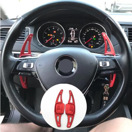 Set 2 padele volan pentru VW, Shift Paddle, VW Golf7.5 MK7 Golf8 MK8 VW POLO MK6 Touareg Passat B8 2017-2020 [2]