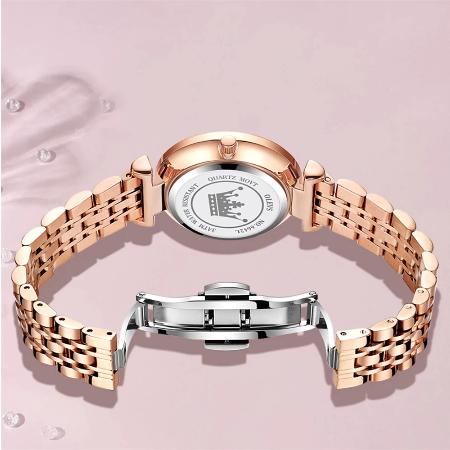 Set pentru femei 3 buc Luxury ceas, bratara, colier [11]