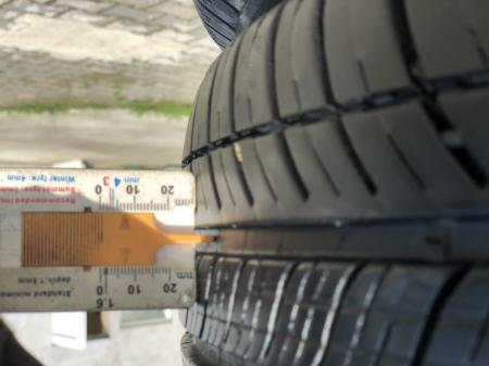 set 4 anvelope 175/65 R15 84H sh vara Michelin 7mm cu garantie [8]