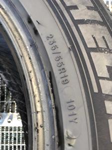 set 2 anvelope 235/55 R19 sh vara Michelin 6mm cu garantie3