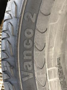 set set 2 anvelope 235/65 R16c sh vara Continental 5mm cu garantie4
