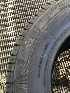 2 anvelope/pneuri noi 185/70 R14 BPV3A vara reconstruite cu garantie4