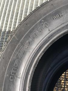 2 anvelope/pneuri noi 185/70 R14 BPV3A vara reconstruite cu garantie2