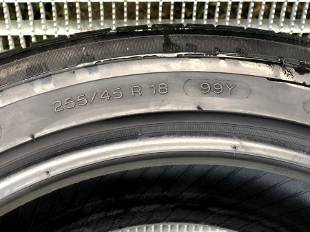 set 2 anvelope 255/45 R18 sh vara Michelin 7mm cu garantie5