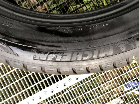 set 2 anvelope 255/45 R18 sh vara Michelin 7mm cu garantie3