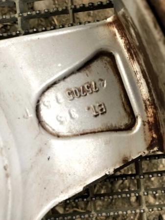set 4 jante aliaj BMW 7Jx15H2 ET 35 5x120 second3