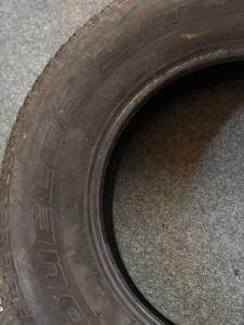 set 2 anvelope 255/70 R18 sh iarna Brigestone 7mm cu garantie2