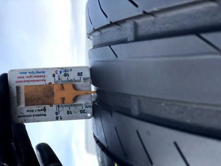 set 4 anvelope 245/45 R19 sh vara Continental 5mm cu garantie [6]