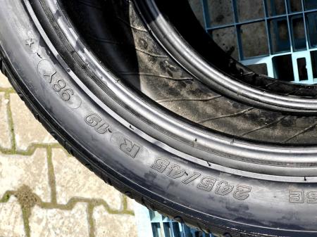 set 2 anvelope 245/45 R19 noi Michelin vara cu garantie [4]