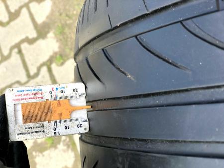 set 2 anvelope 255/35 R19 XL sh vara Delinte 5mm cu garantie [6]
