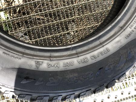 set 2 anvelope 175/65 R14 82T sh Iarna Pirelli 7mm cu garantie [5]