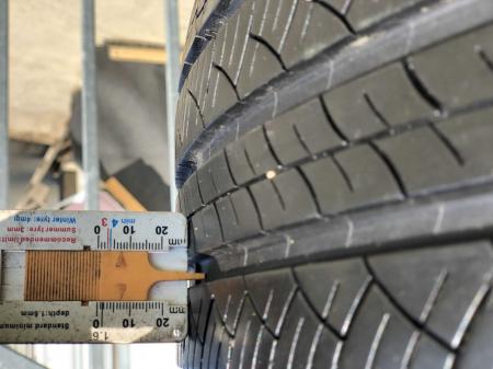 set 4 anvelope 235/55 R17 99V sh vara M+S Michelin 6.5mm cu garantie [7]