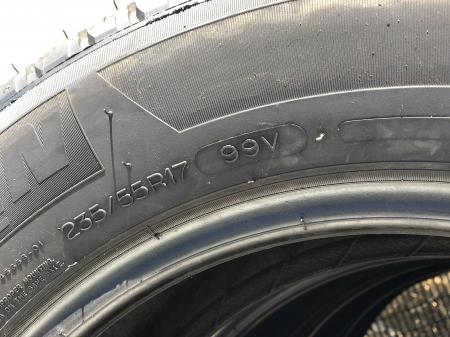 set 4 anvelope 235/55 R17 99V sh vara M+S Michelin 6.5mm cu garantie [6]