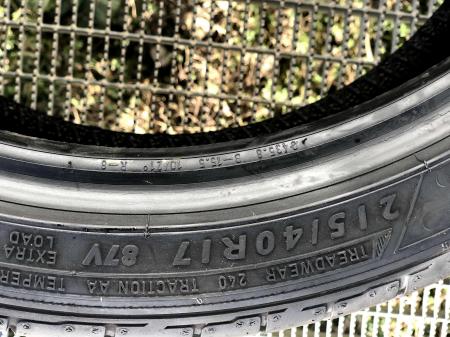 set 2 anvelope 215/40 R17 sh vara Dunlop 7mm cu garantie6