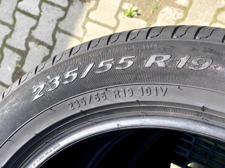 set 4 anvelope 235/55 R19 sh vara Pirelli 5mm cu garantie [3]
