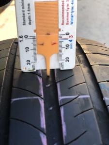 set 4 anvelope 185/65 R15 sh vara Michelin 6mm cu garantie7