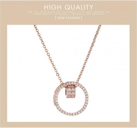 Set 3 buc pentru femei ceas, bratara, colier, luxury [2]