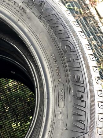 set 4 anvelope 205/55 R16 sh vara Michelin 6mm cu garantie2