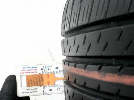 Set 4 anvelope 215/45 R17 sh vara Bridgestone 6.5mm cu garantie5