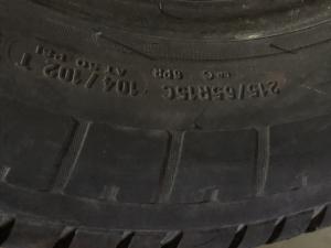 set 4 anvelope 215/65 R15c sh vara Michelin 6 mm cu garantie3