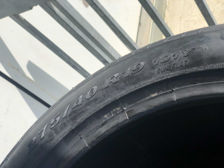 set 4 anvelope 275/40 R19 sh runflat vara Pirelli 6mm cu garantie [5]
