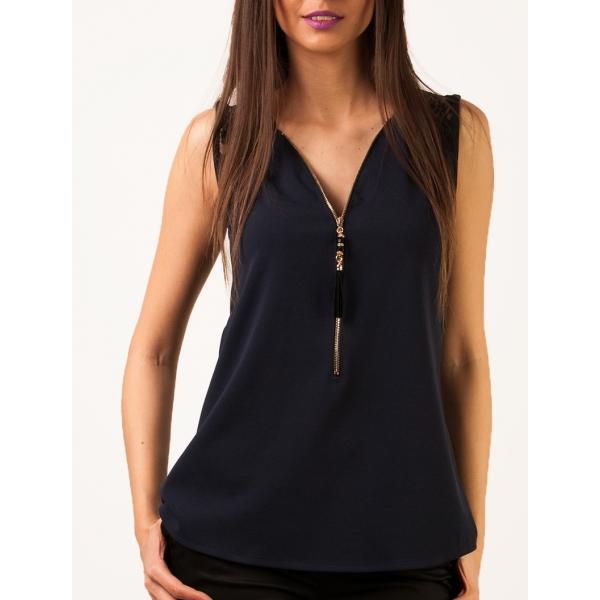Bluza dama casual bleumarin- BL25 [1]