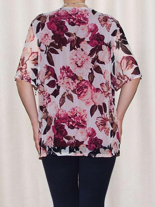 Bluza dama lejera cu maneca scurta - Victoria Visiniu 1