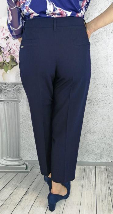 Pantaloni dama office din stofa cu buzunare - P015 2