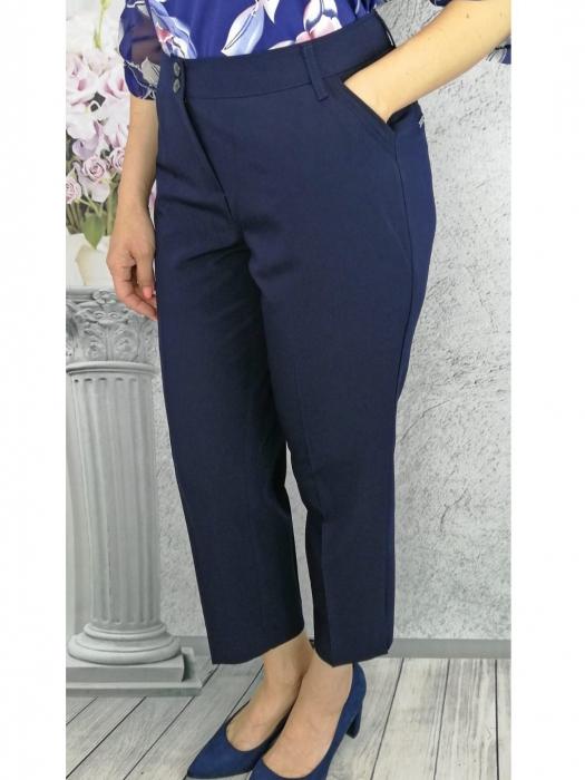 Pantaloni dama office din stofa cu buzunare - P015 0